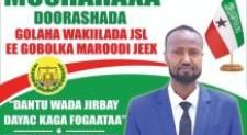 """SAADAASHA DOORASHOOYINKA SOO SOCDA EE SOMALILAND """"'"""
